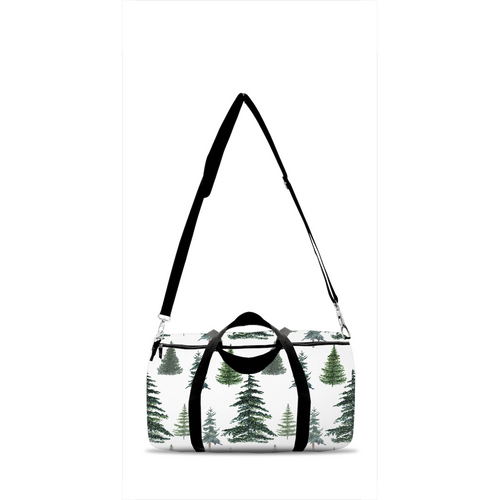 The Forest Pine Trees Duffle Bag, Forest Overnight Bag