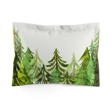 Load image into Gallery viewer, Into The Woods Coniferous Trees Comforter, Forest Bedding