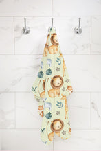 Load image into Gallery viewer, Baby Africa Hooded Baby Towel, Safari Baby Boy Towel