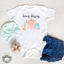 Load image into Gallery viewer, Harvest Blessings Bodysuit, Fall Baby Clothes