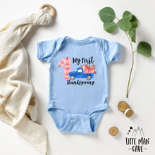 Load image into Gallery viewer, My First Thanksgiving Shirt, Fall Baby Clothes