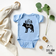 Load image into Gallery viewer, Alpha Wolf Baby clothes, Wildlife kids clothes
