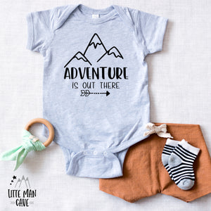 Adventure is Out There Baby Outfit, Outdoor Baby Clothes