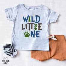 Load image into Gallery viewer, Wild Little One Bodysuit, Woodland Baby Clothes