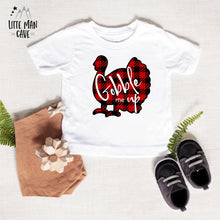 Load image into Gallery viewer, Gobble me Up Shirt, Thanksgiving Kids Clothes