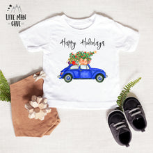 Load image into Gallery viewer, Happy Holidays Shirt, Christmas Baby Clothes
