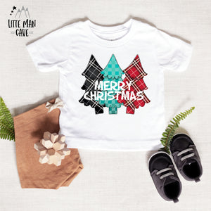 Merry Christmas Tree Shirt, Christmas Baby Clothes