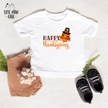 Load image into Gallery viewer, Happy Thanksgiving Bodysuit, Fall Kids Clothes