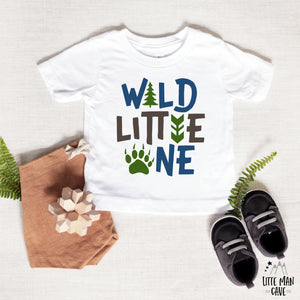 Wild Little One Bodysuit, Woodland Baby Clothes
