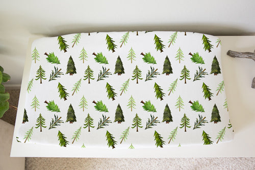 Into the Wood Changing Pad Cover, Forest Nursery Décor