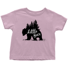 Load image into Gallery viewer, Trees Little Bear Shirt, Cabin Kids Clothes