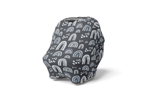 Logan's Farm Barn and Farm Animals Car Seat Cover, Farm Nursing Cover