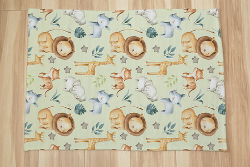 Baby Africa Rug, Safari Nursery Decor