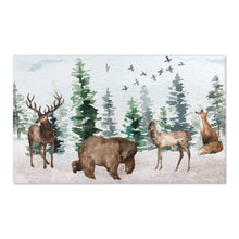 Load image into Gallery viewer, Woodland Area Rug, Forest Nursery Decor - Enchanted Forest