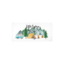 Load image into Gallery viewer, Little Explorer Changing Pad Cover, Woodland Nursery Bedding