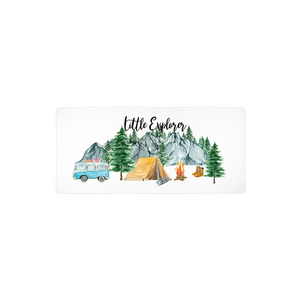 Little Explorer Changing Pad Cover, Woodland Nursery Bedding