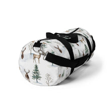 Load image into Gallery viewer, Woodland Duffel Bag, Deer Hospital Bag - Enchanted Forest
