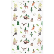 Load image into Gallery viewer, Wildlife Curtain, Woodland Nursery Decor