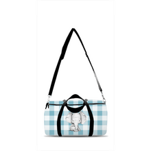 Load image into Gallery viewer, Peanut Elephant Duffle Bag, Elephant Overnight Bag