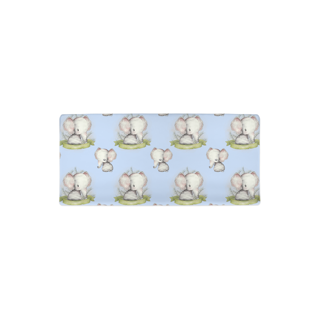 Peanut Changing Pad Cover, Elephant Nursery Bedding