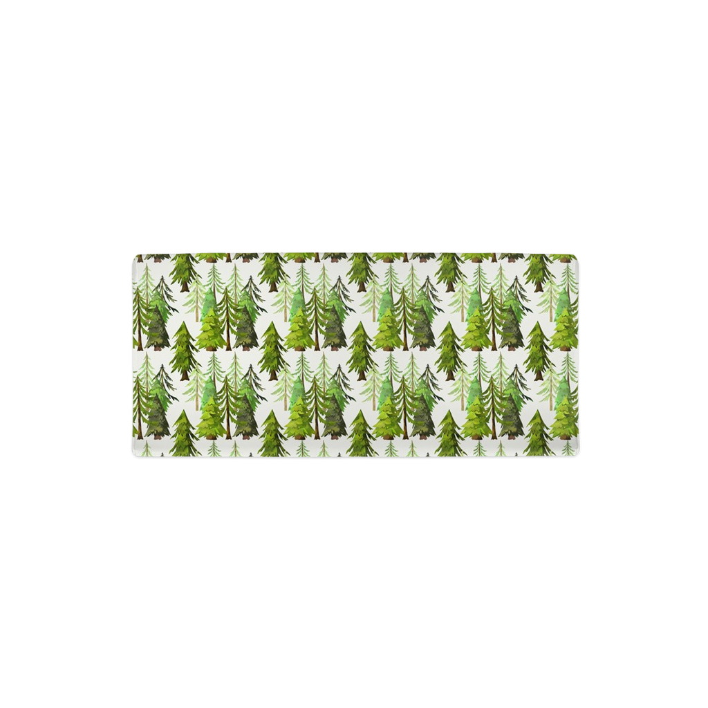 Pine Tree Changing Pad Cover Ref 2, Forest Nursery - Into the Wood