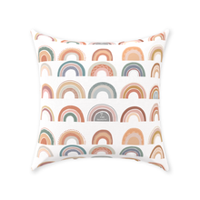 Load image into Gallery viewer, Rainbow Personalized Pillow, Rainbow Nursery Decor - Be A Kind Rainbow