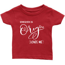 Load image into Gallery viewer, Somebody in Oregon loves me shirt, Home State Kids Clothes