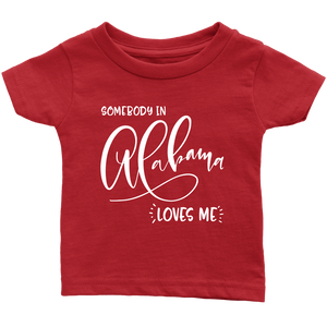 Somebody in Alabama loves me shirt, Home State Kids Clothes