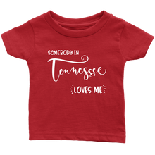 Load image into Gallery viewer, Somebody in Tennessee loves me shirt, Home State Kids Clothes