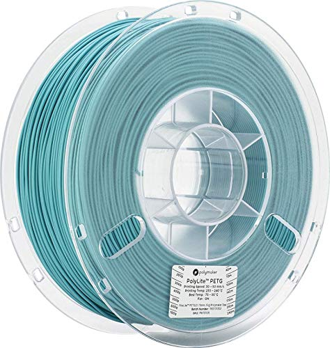 Polymaker PolyLite PLA Teal 1KG Spool