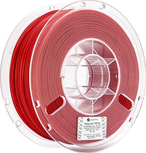 Polymaker PolyLite PLA Red 1KG Spool