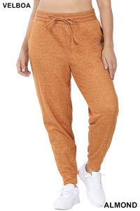 Plus Size Almond Joggers