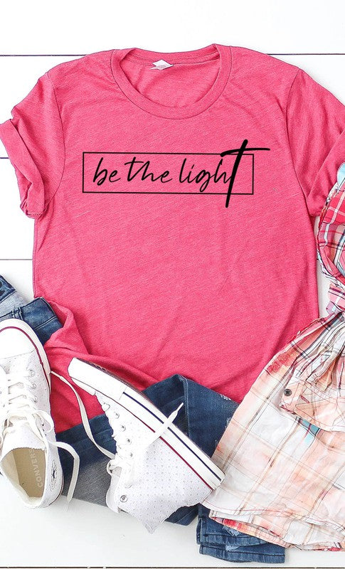 Plus Size Be the Light Graphic Tee