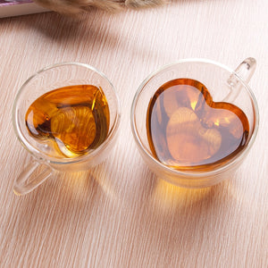 Heart Love Shaped Couple Mug