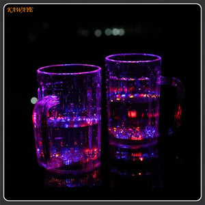 LED Automatic Flashing Mug