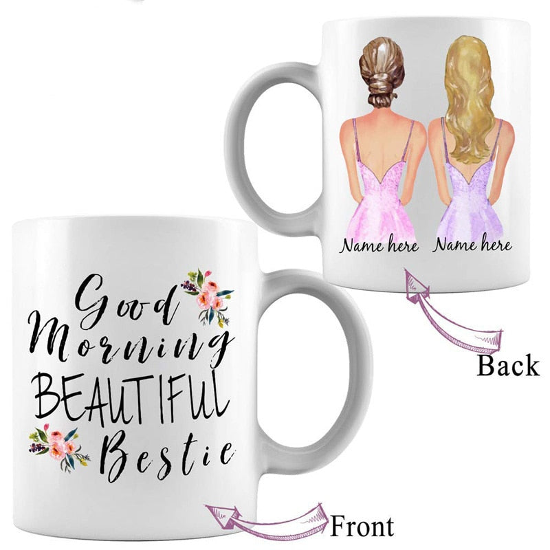 Best Friend-Custom Name Coffee Mug