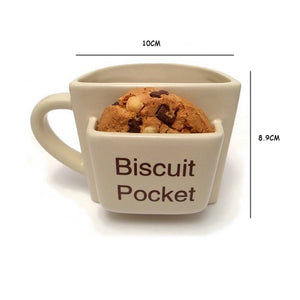 Biscuit or Cookie Pocket Coffee Cup