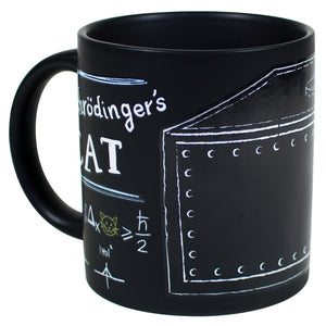 Schrodinger's Cat Heat Changing Coffee Mug Set