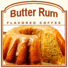 Butter Rum Flavored Coffee-Decaf