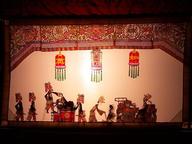Theatre d'ombre chinoise