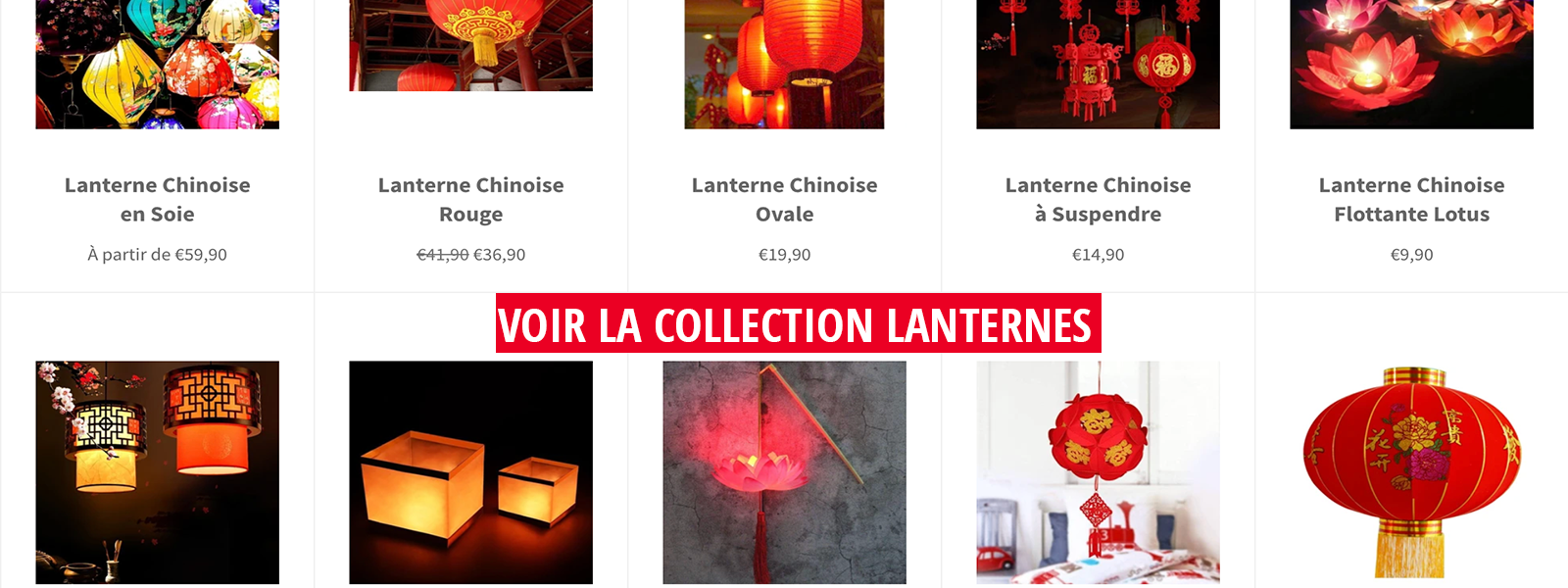 collection lanterne