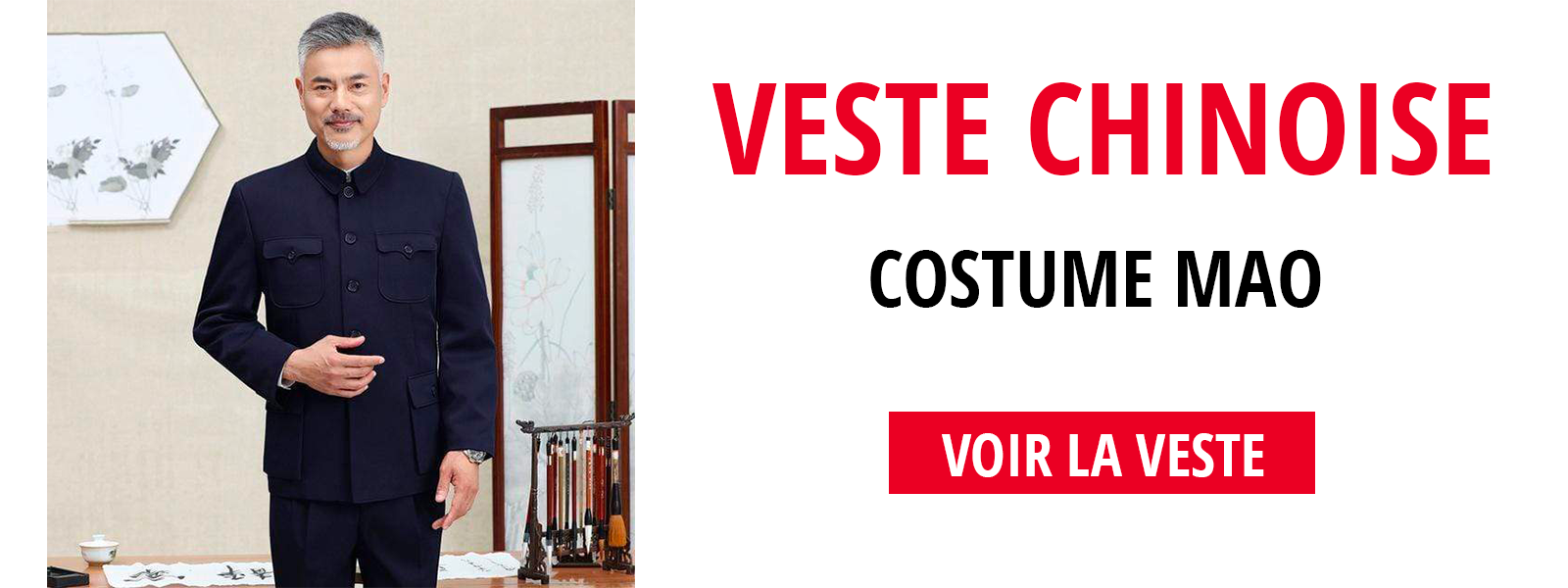 Veste costume mao