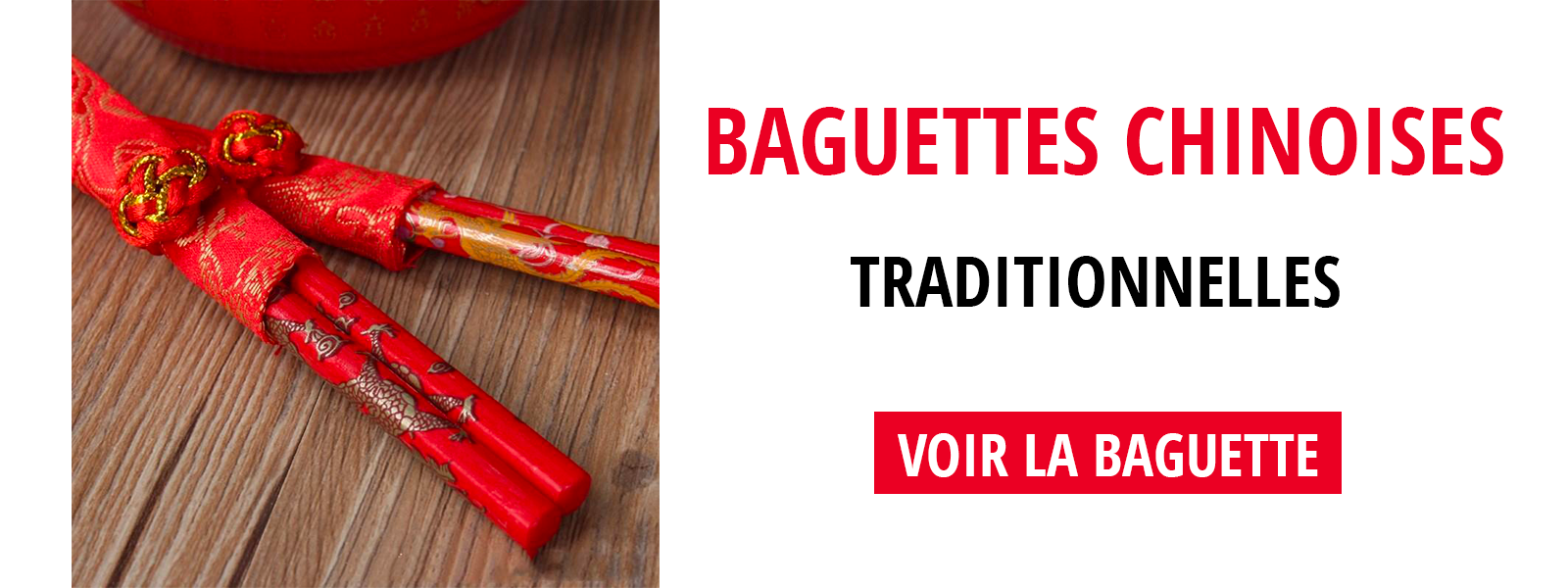 Baguettes Chinoises traditionnelles