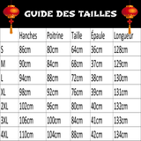 Robe Chinoise Sensuel guide des tailles