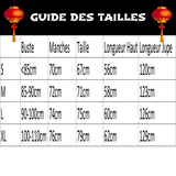 Hanfu Traditionnel guide des tailles
