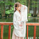 Hanfu Manche Large rose