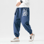Pantalon Chinois Dragon mandarin
