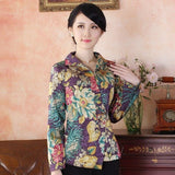 Veste Chinoise Femme Vintage chine