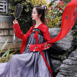 Hanfu Traditionnel noir