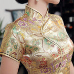 Robe Chinoise <br> Dorée